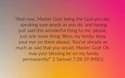 Bible in a Year – A Prayer